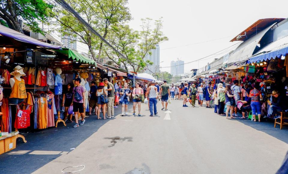 Mercado de los domingos de Chatuchak, el más grande del mundo